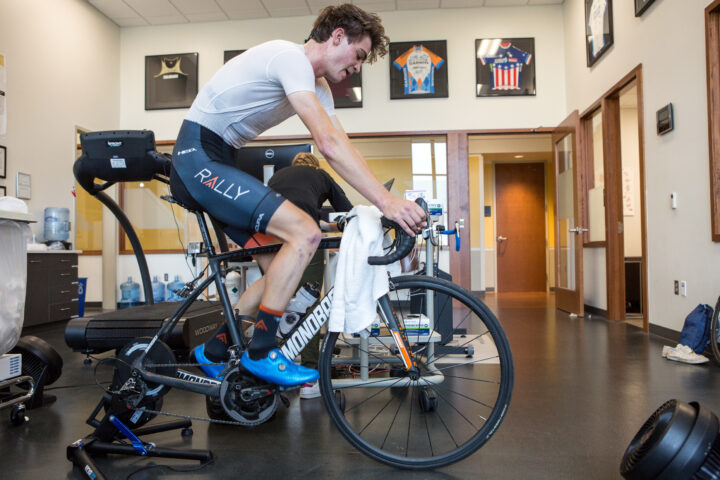 Sepp Kuss cycling physiology testing