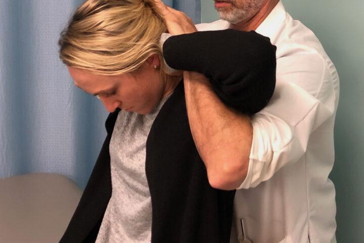 Physical Therapist Ron Kochevar in practice