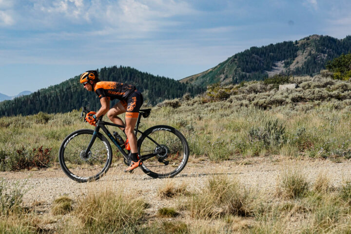 Hannah Finchamp Orange Seal Off-Road gravel racing