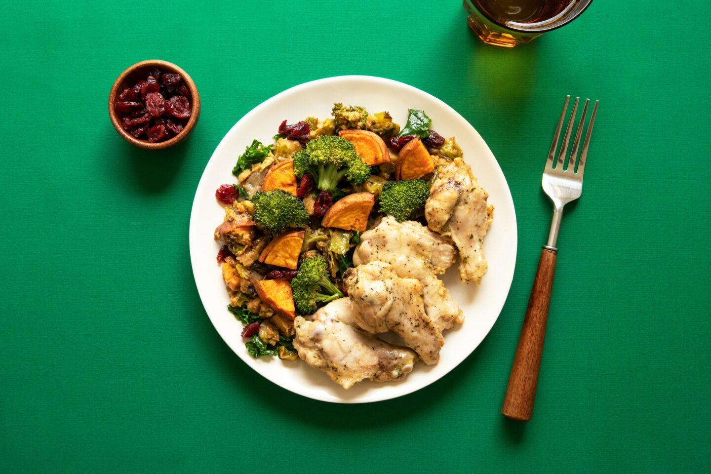 fundamentals of sports nutrition plate of vegetables