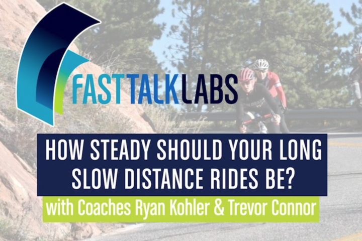 how steady should your long slow distance rides be?