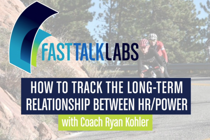long-term relationship between heart rate and power
