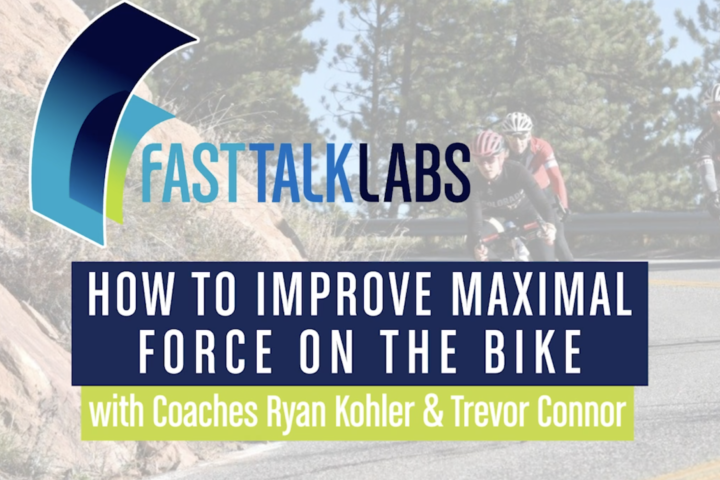 improve maximal force on the bike