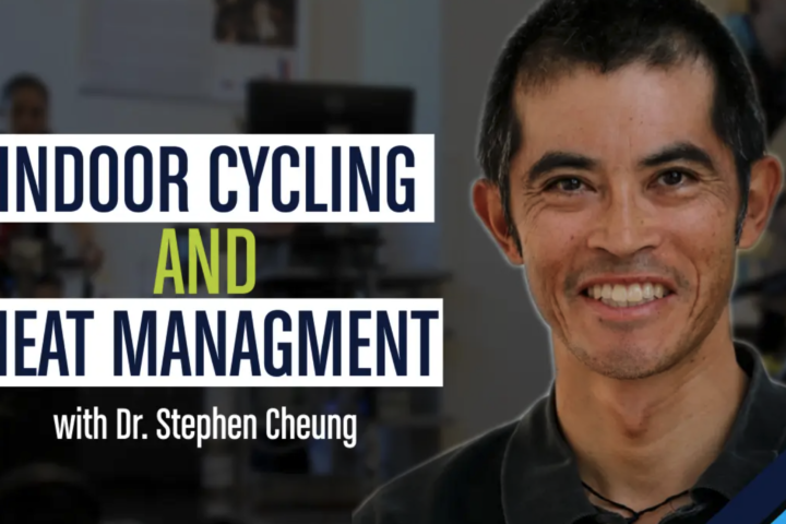 indoor cycling and heat management