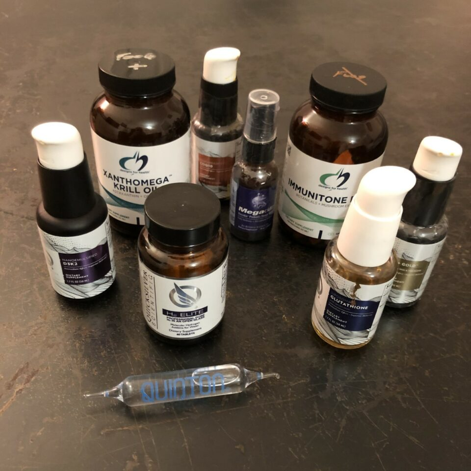 Supplements Cycling in Alignment