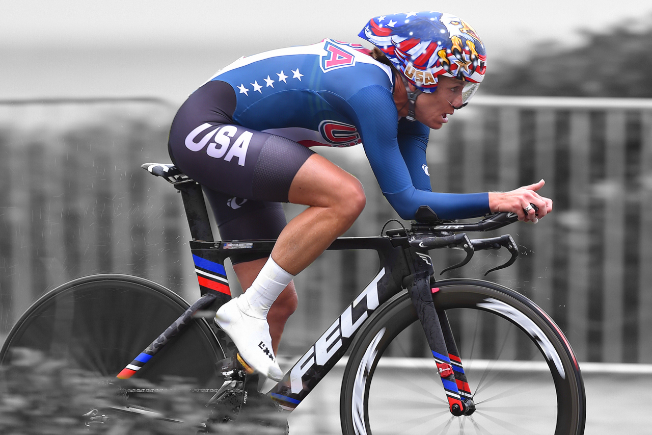 time trial cyclist Kristin Armstrong