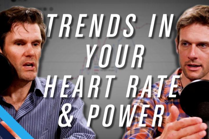 trends in your heart rate and power