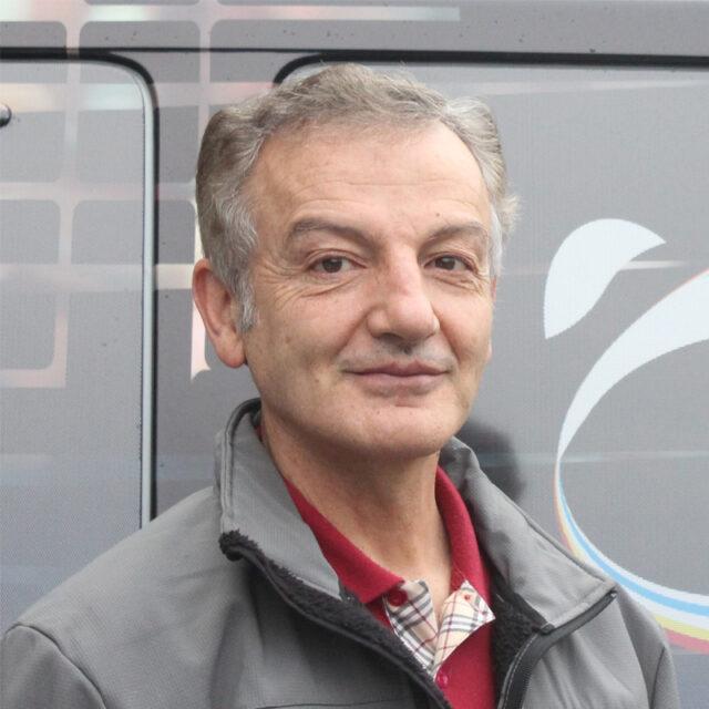 Houshang Amiri cycling coach