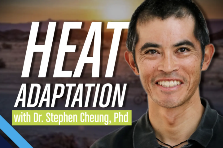 heat adaptation with Dr. Stephen Cheung