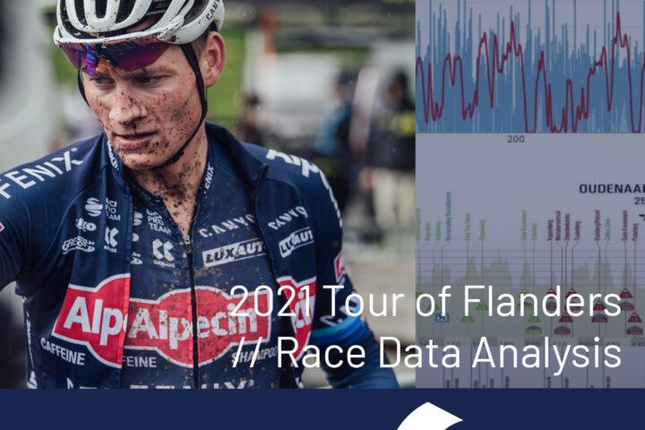 Dr. Stephen Seiler on Mathieu van der Poel race data Tour of Flanders