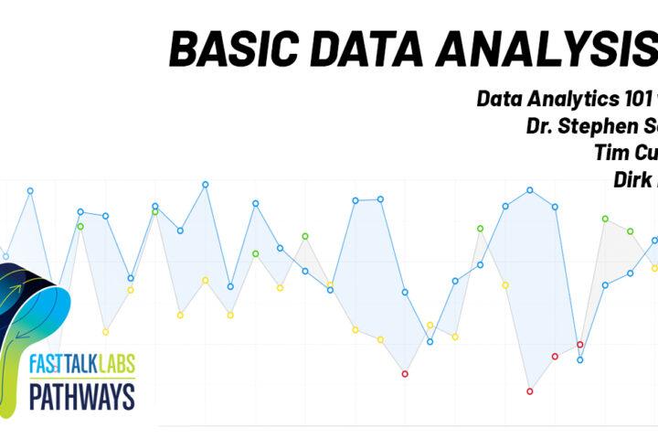 Basic Performance Data Analysis Pathway