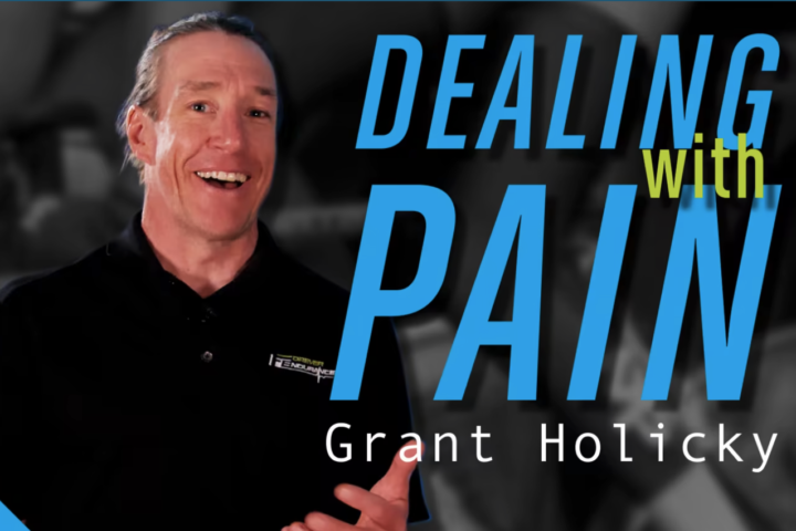 how to deal with pain, with Grant Holicky