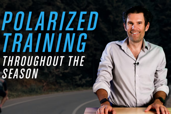 polarized training throughout the season with Trevor Connor