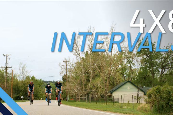 4x8 Cycling Interval Workout Execution