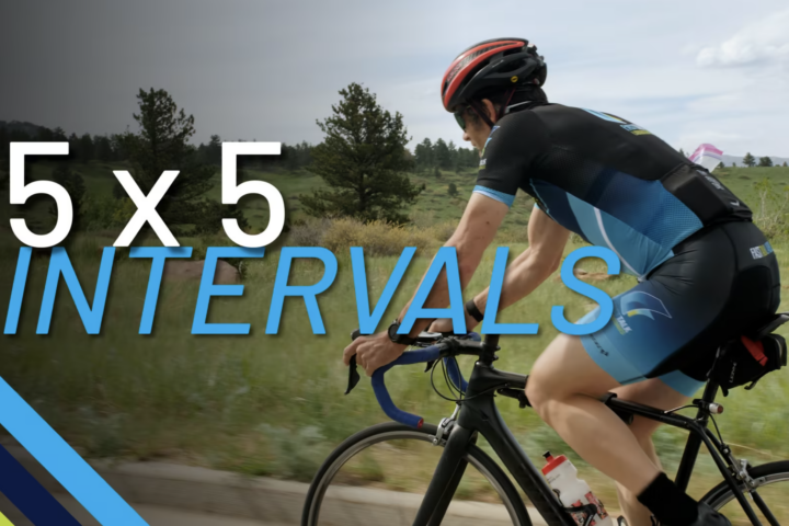 5x5 Intervals Cycling Workout