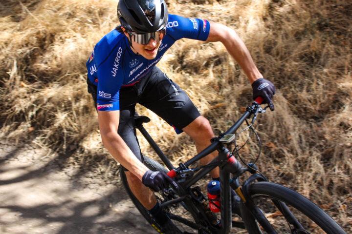 Alec Pasqualina racing MTB