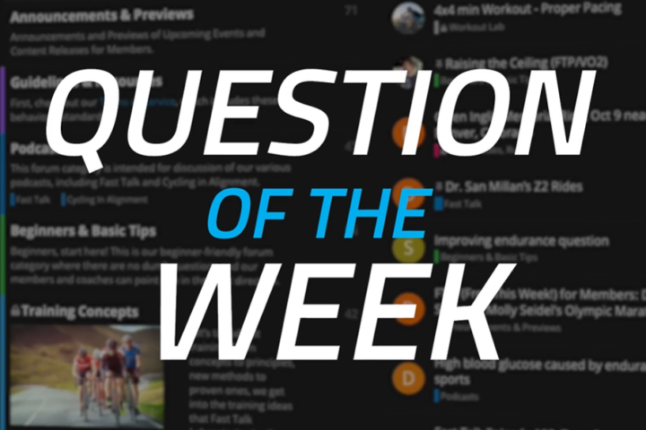 Fast Talk Labs Forum Question of the Week