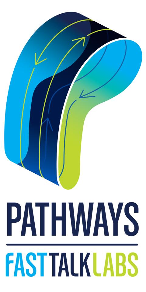 Fast Talk Laboratories Pathways vertical logo