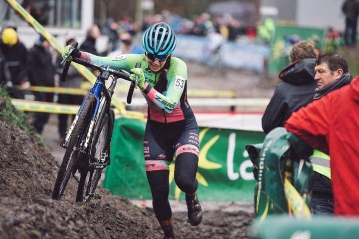 Rebecca Gross racing cyclocross
