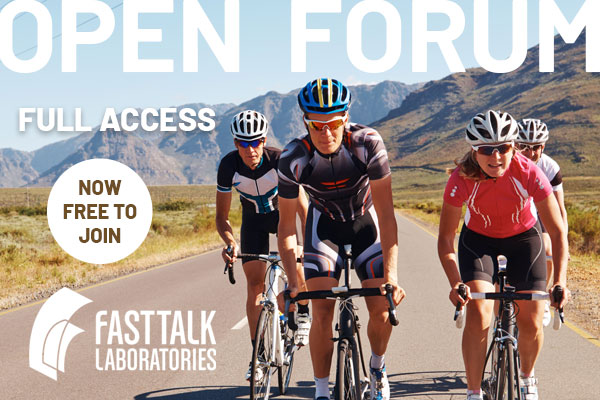 Fast Talk Labs Open Forum Is Now Free to All Members
